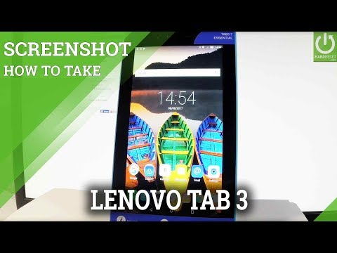 How to Take Screenshot in LENOVO Tab3 7 Essential - Capture Screen