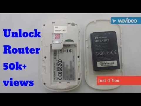 How to unlock huawei router for free