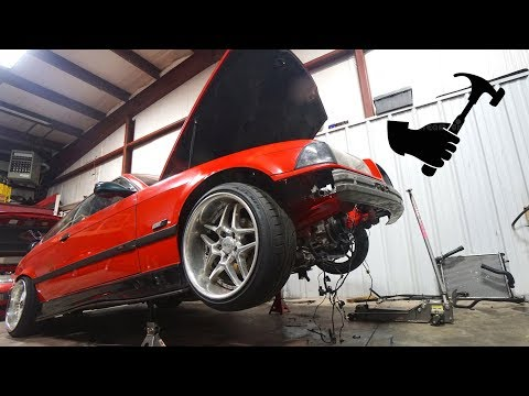 GETTING BACK UP TO SPEED ON THE E36!!