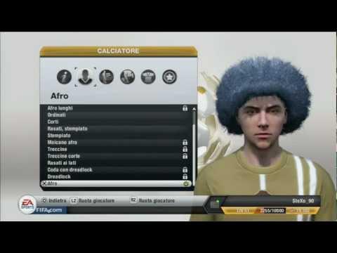 Fifa 13 - Come ottenere gli AFRO GRANDI nel PRO CLUB (PS3-XBOX360-PC)