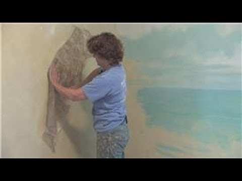 Interior Painting Ideas : Texturing Your Walls With Paint