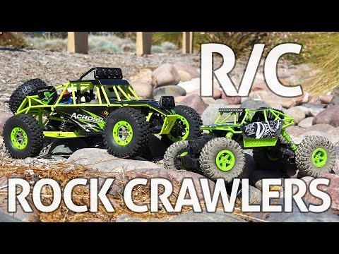 RC Rock Crawlers! WLtoys & JJRC - REVIEW