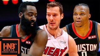 Houston Rockets vs Miami Heat - Full Game Highlights   October 18, 2019 NBA Preseason