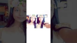 #x202b;صور خديجه القادري مع زهرات اطفال ومواهب بفلتر الورد#x202c;lrm;