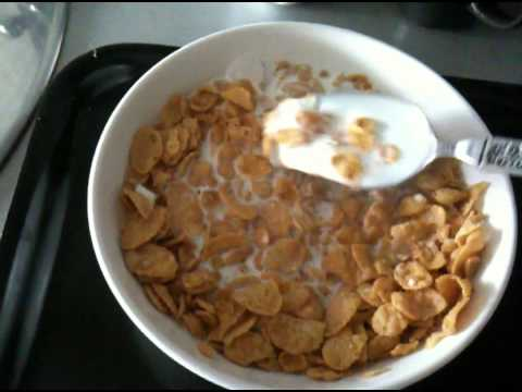 Home Made Cereal (Corn Flakes) Cooking Recipe Third Instruction