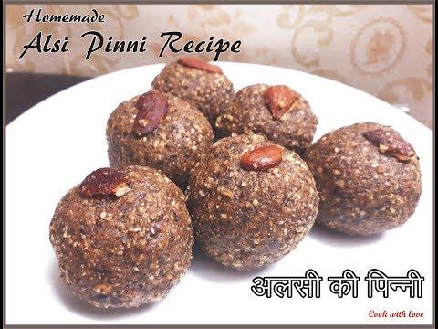 punjabi pinni recipe || Alsi ki pinni || Flax seeds Laddoo