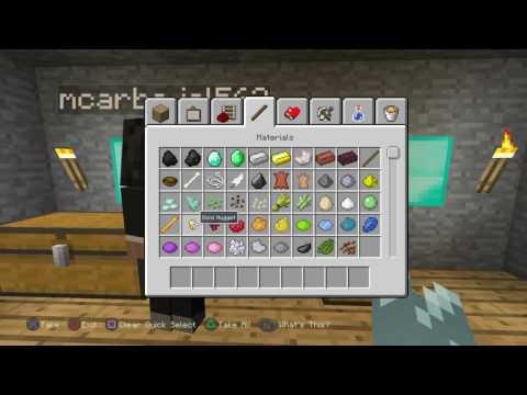 Minecraft 5 GLITCHES ps4/ps vita/ps3