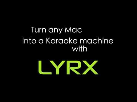 LYRX Karaoke Software For MAC - Getting Started Feature Overview