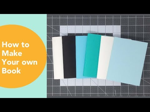 How to make a book at home, DIY Paper Crafts Ideas, Staple Binding