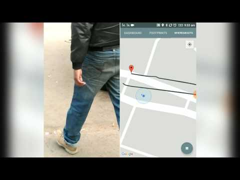 How to use Google Map with Smartphone's compass in DaRex with