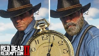Red Dead Redemption 2 Arthur Morgan S Beard Growth Videos Ytube Tv