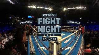 Asinia Byfield barrage silences Sammy McNess | 360 Virtual Reality Boxing