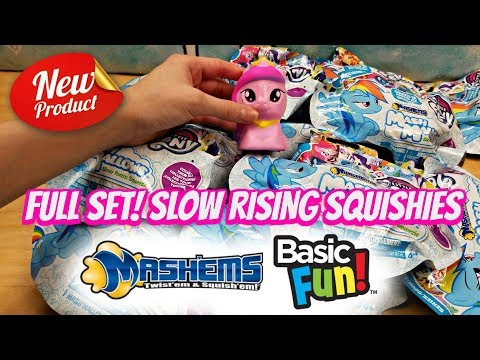 FULL SET OF MY LITTLE PONY MASH MALLOWS SQUISHY BLIND BAGS NOW AVAILABLE AT TARGET AND WALMART!!!