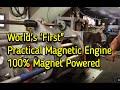 Selfstarting Magnet Motor 100 Magnet Powered