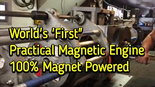 Selfstarting Magnet Motor 100% Magnet Powered