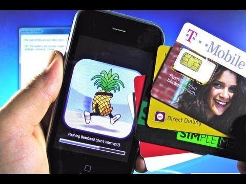 How To Unlock iPhone 3G 4.2.1 for Tmobile - 5.15.04 Unlock & Jailbreak Untethered