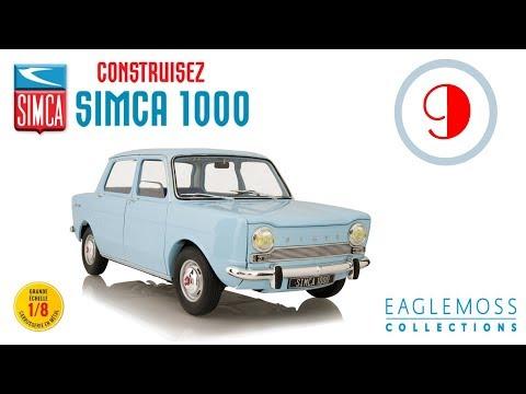 SIMCA 1000 ►échelle 1/8 ◄ Eaglemoss collections # fascicule  9