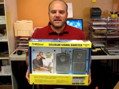 Wilson 801247 DT Desktop-Workspace Cell Phone Booster