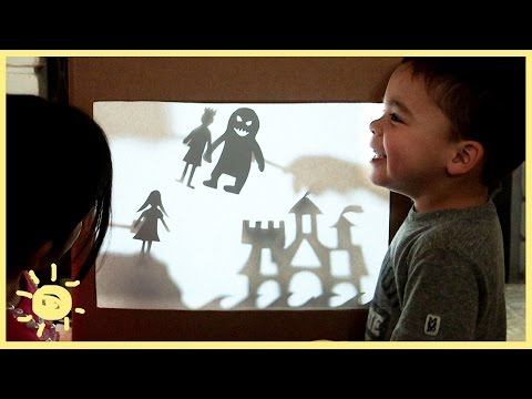 PLAY | Shadow Puppets (Using A Cardboard Box!)