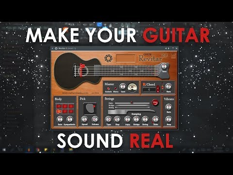 How To Make The Revitar Plugin Sound More Real