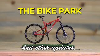 The Bike Park, sponsor lineup, and second YouTube channel