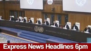 Express News Headlines - 6:00 PM - 18 May 2017