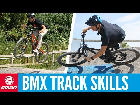 Using A BMX Track To Improve Mountain Bike Skills