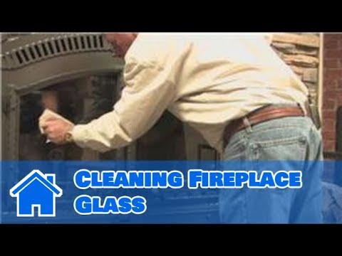 Fireplace Maintenance : Cleaning Fireplace Glass