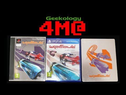 Geekology 4M@: WipEout Omega Collection PS4