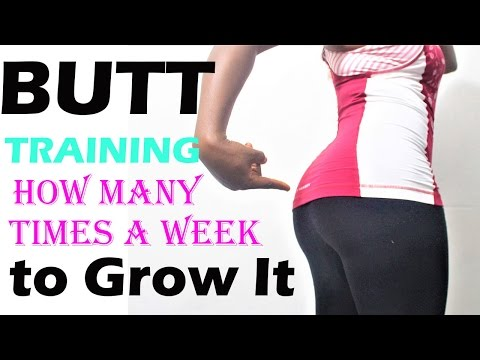 How Often Should You Workout  the Butt MUSCLEs for Growth|EVERYDAY? | how to get a bigger buttocks