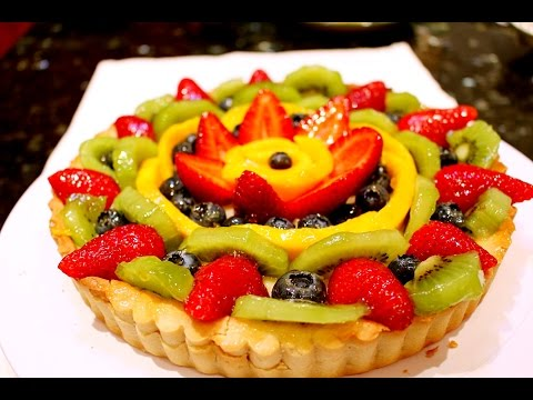 How to Make Bakery Style Fruit Tart   法式鮮果撻