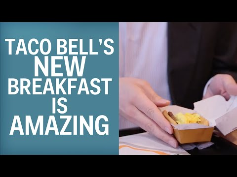 We Tried Taco Bell's New Breakfast And It Is Amazing