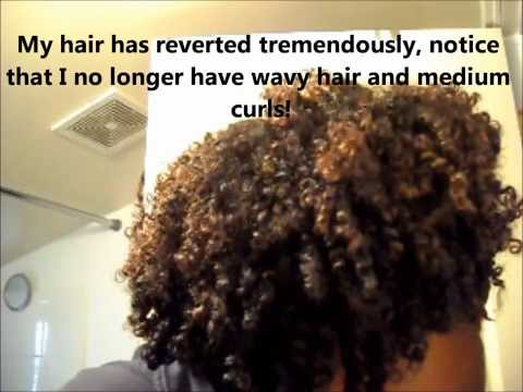 Texlaxing My Natural Curl pattern - Update 3 months post results - Just For Me Texture Softener