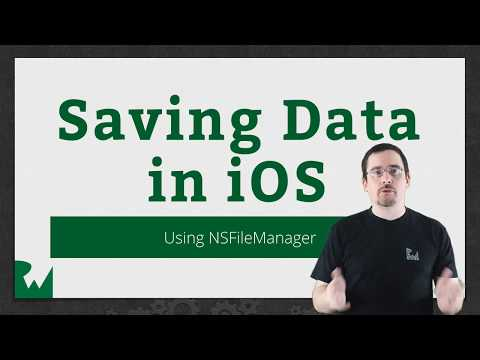The NSFileManager - Saving Data in iOS - raywenderlich.com