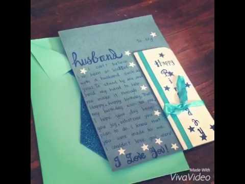 SURPRISE love card/ DIY love card to husband