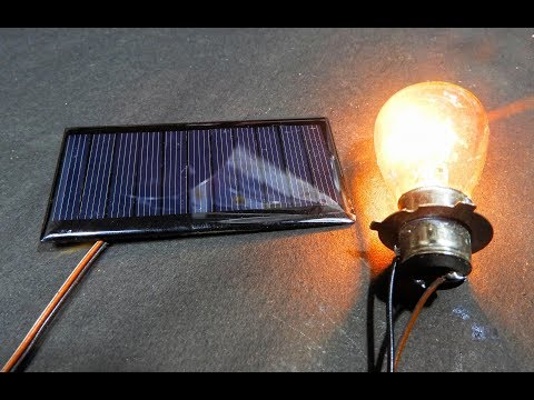 How to Boost Solar panel Output volt  (Et Discover)