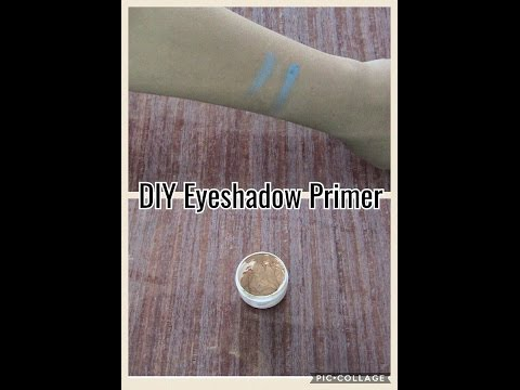 How to make your own eyeshadow primer (DIY) at home with only three ingredients
