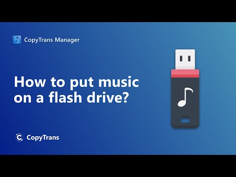 How to transfer music from iPhone to PC or a USB flash drive