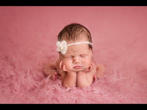 Tutorial How to Crochet flower baby headband with Pearl bid by Fairy World Shop