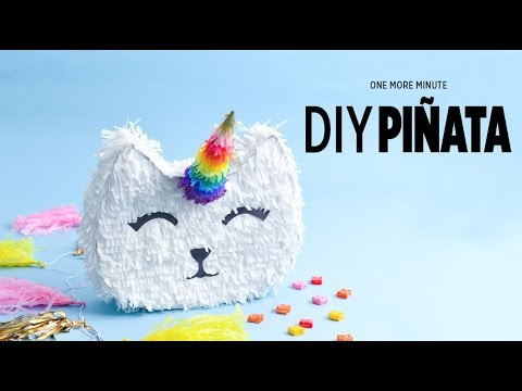 One More Minute: DIY Pinata