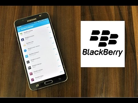 How To Install Blackberry Stock Apps On Any Android Device! [WITHOUT ROOT]