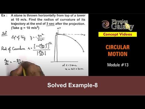 7. Physics | Circular Motion | Solved Example-4 on Circular Motion | by Ashish Arora