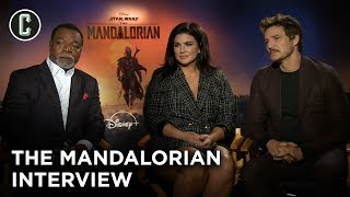 The Mandalorian Cast Interview