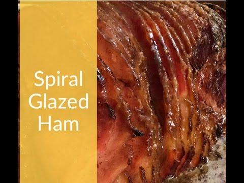Honey Glazed Ham Recipe   How to make a spiral ham