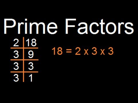 Tricks of finding prime factors