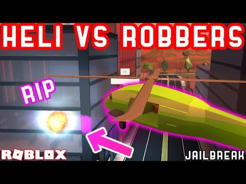 MILITARY HELICOPTER CAN SHUTDOWN JEWELRY STORE ROBBERY?? | Roblox Jailbreak