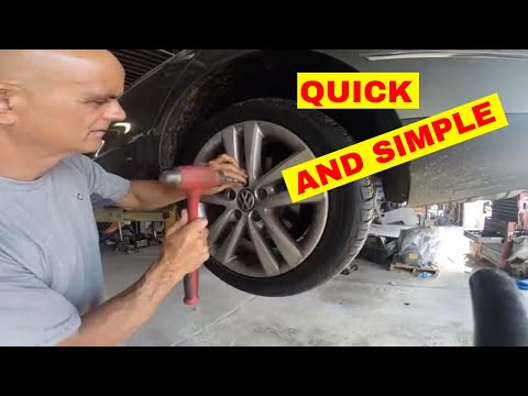 How to remove a locking lug nut without a key quick and easy