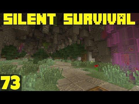 Silent Survival Ep73 Finishing The Base!  Minecraft Vanilla Survival