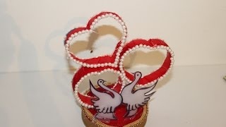 DIY-Best out of waste Plastic Bottle transformed to Lovely Heart Show piece