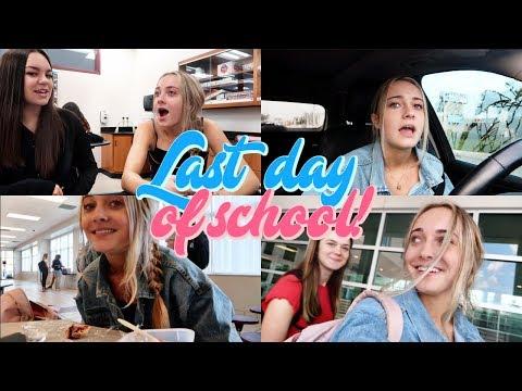 My Last Day of School! GRWM + Vlog